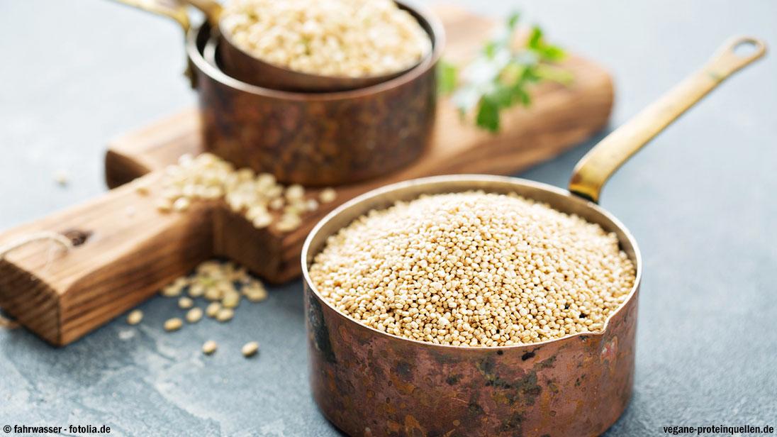 Quinoa Proteingehalt